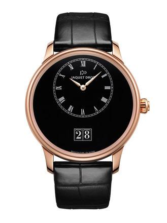 Jaquet Droz Grande Date Black Enamel J016933210