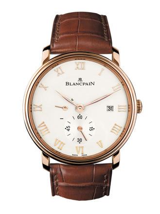 Blancpain Villeret Ultraplate 6606 3642 55B