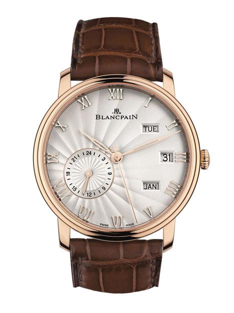 Blancpain Villeret Quantieme Annual GMT 6670 3642 55B