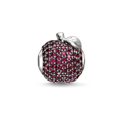 Thomas Sabo Kırmızı Elma Karma Beads K0188-639-10
