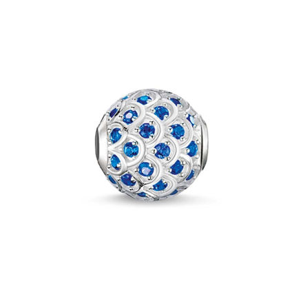 Thomas Sabo Mavi Balık Karma Beads K0135-638-32