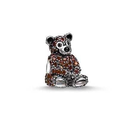 Thomas Sabo Kahverengi Ayı Karma Beads K0189-041-2