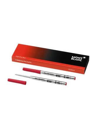 Montblanc 2 Ballpoint Pen Refill (M) Nightfire Red 116215