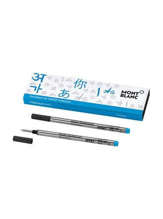 Montblanc 2 Rollerball Pen Refill (M) Unicef Blue 116221