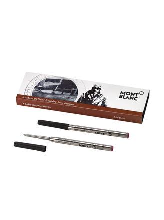 Montblanc 2 Ballpoint Pen Refills (M) Antoine De Saint-Exupéry 116273