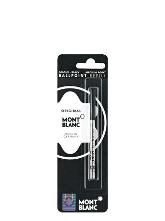 Montblanc Ballpoint Refill Black Medium 15150
