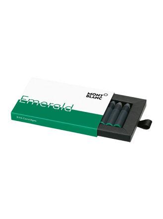Montblanc Ink Cartridges Emerald Green 8'Li Paket 118125