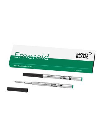 Montblanc  2 Ballpoint Pen Refills (M) Emerald Green 118126