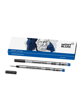Montblanc 2 Rollerball Refills (M) Writers Edition Homage to Homer 118130