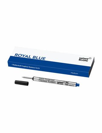 Montblanc Rollerballball Kalem Capless System Refill (M), Royal Blue 124496
