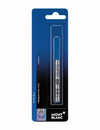 Montblanc Tükenmez Kalem Refill (M) Pacific Blue Blister 107866