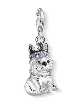 Thomas Sabo Taçlı Bulldog Charm 1510-497-21