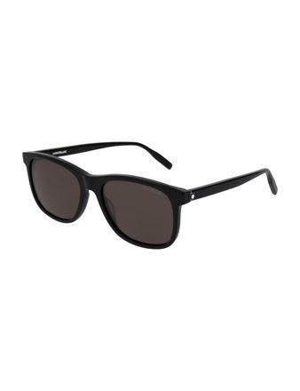 Montblanc Square Frame Acetate Güneş Gözlüğü 123974