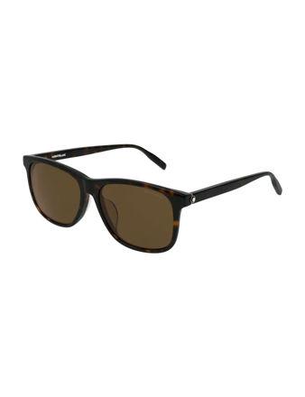 Montblanc Square Frame Acetate Güneş Gözlüğü 123984