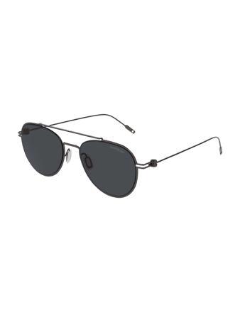 Montblanc Aviator Frame Metal Güneş Gözlüğü 123987