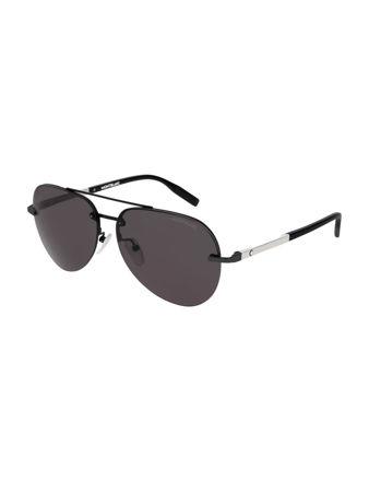 Montblanc Aviator Frame Metal Güneş Gözlüğü 123989