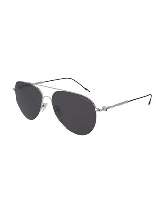 Montblanc Aviator Frame Metal Güneş Gözlüğü 123997