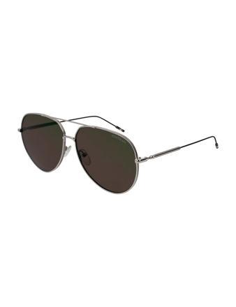 Montblanc Aviator Frame Metal Güneş Gözlüğü 123999