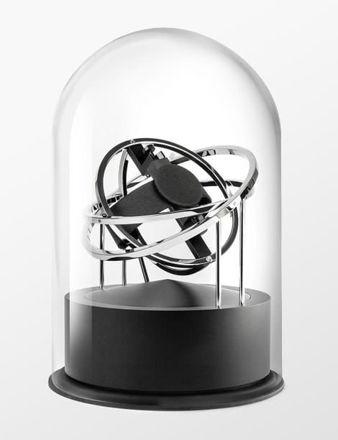 Bernard Favre Planet Double-Axis Silver Watch Winder 100.10.10.01