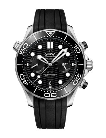Omega Seamaster Diver 300M Co‑Axial Master Chronometer Chronograph 44mm 210.32.44.51.01.001