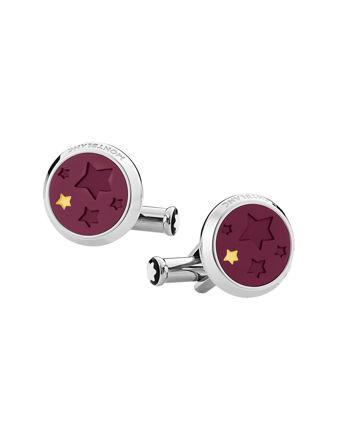 Montblanc Kol Düğmeleri Le Petit Prince Paslanmaz Çelik-Lake 126099
