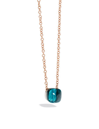 Pomellato Nudo Chain Blue Lond Kolye PCB6010O6000000TL