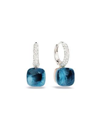 Pomellato Nudo Drop London Blue Küpe POB4010O6000DB0TL