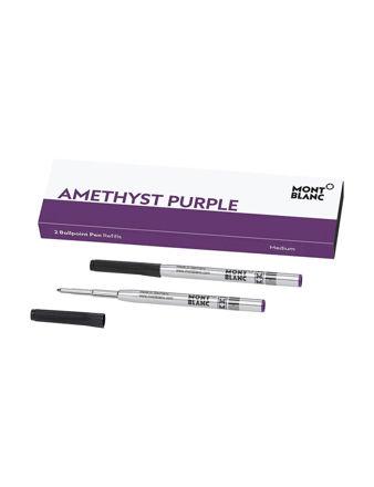 Montblanc Tükenmez Kalem Yedeği Amethyst Purple 124633