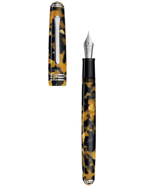 Tibaldi Amber Sarı Reçine Dolma Kalem N60-550_FP