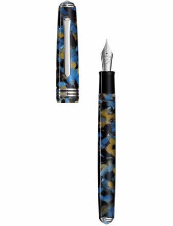 Tibaldi Samarkand Mavi Reçine Dolma Kalem N60-681_FP