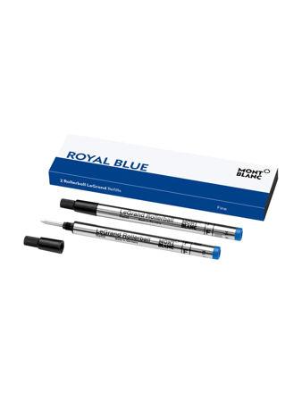 Montblanc 2'li Rollerball Legrand Yedeği Fine Royal Blue 128227