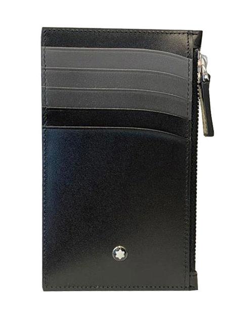 Montblanc Meisterstück Fermuarlı Siyah/Gri Kartlık 5cc 126216