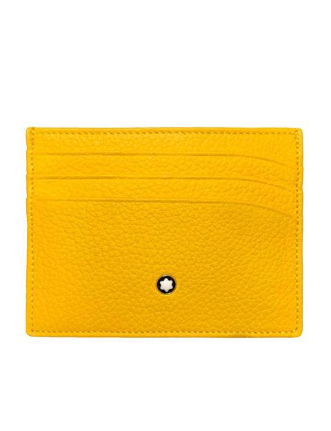 Montblanc Meisterstück Soft Grain Sarı Kartlık 6cc 124381