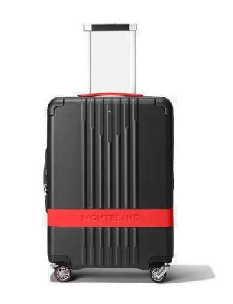 Montblanc Trolley Valiz X Pirelli Siyah Kırmızı 125491