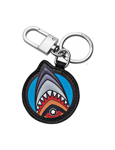 Montblanc Meisterstück Soft Grain Shark Anahtarlık 124587