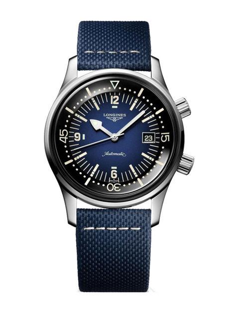 Longines Heritage Legend Diver Watch Blue 42 mm L3.774.4.90.2