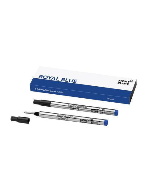 Montblanc 2 Roller Kalem LeGrand Refill Broad Royal Blue 128229