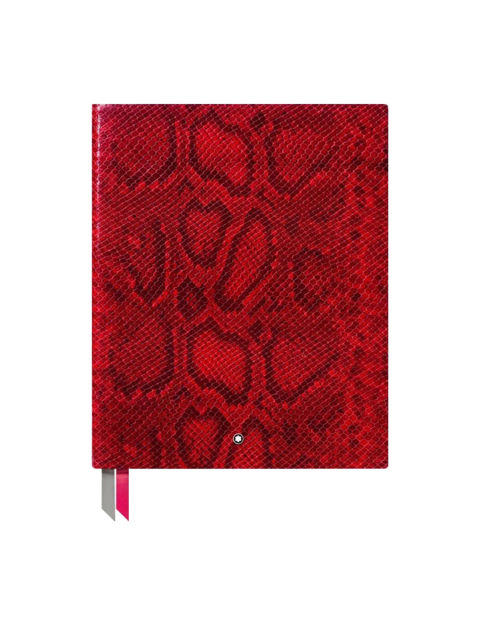 Montblanc Fine Stationery #149 Python Baskı Parlak Kırmızı Büyük Eskiz/Not Defteri 119515