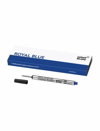 Montblanc 1 Roller Kalem Yedeği Kapaksız Sistem Medium Royal Blue 128243