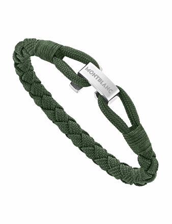 Montblanc Yeşil Wrap Me Bileklik Naylon ve Çelikten 12838463