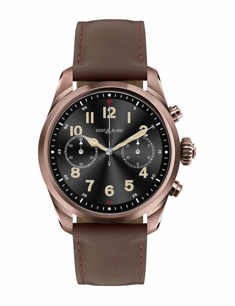 Montblanc Summit 2 Akıllı Saat Paslanmaz Çelik Kahverengi veDeri 126479