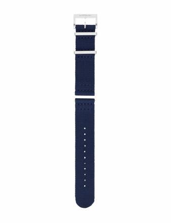 Montblanc Mavi Naylon Saat Kayışı 125843